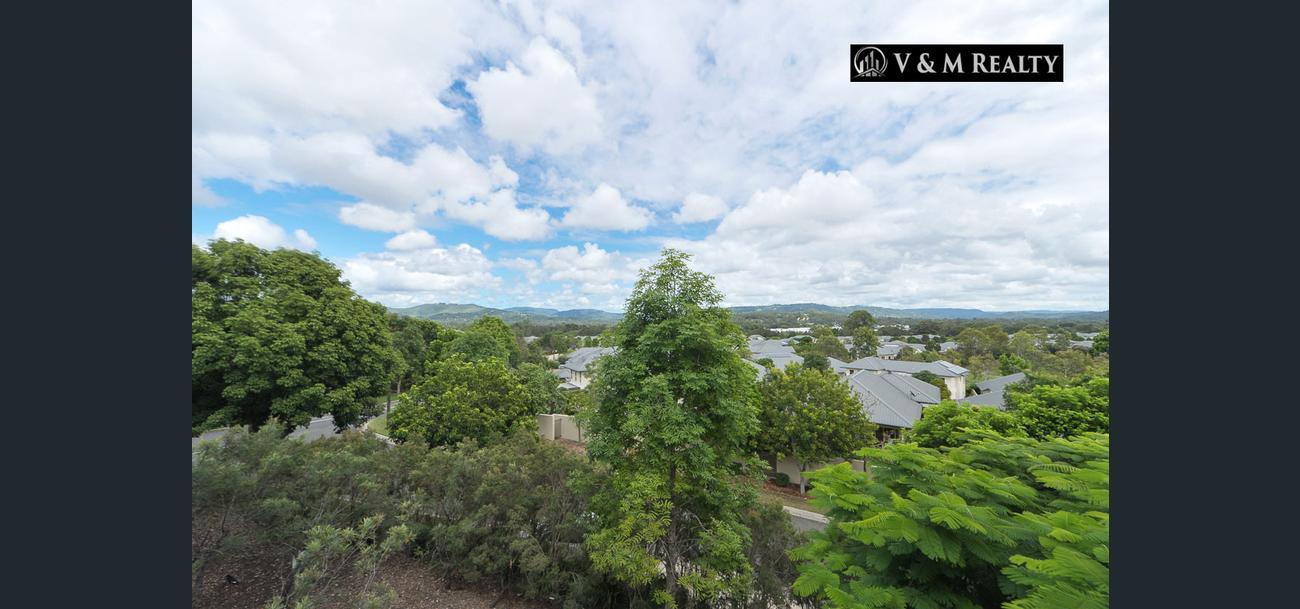 7/305 Easthill Drive Robina Qld 4226 – Stunning 3 Bedroom apartment with hinterland views!