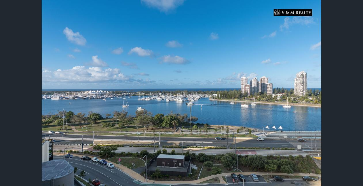 1405/4 Como Crescent Southport Qld 4215- Perfectly Located Luxurious Apartment with Magnificent Views in Southport